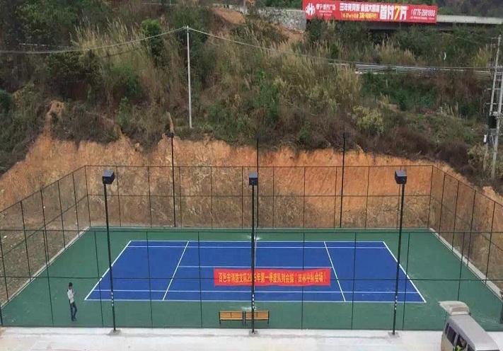 网球场案例