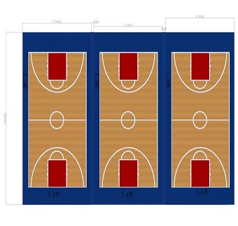 betvlctor伟德登陆PVC篮球场|PVC篮球场施工|室内PVC篮球场建设