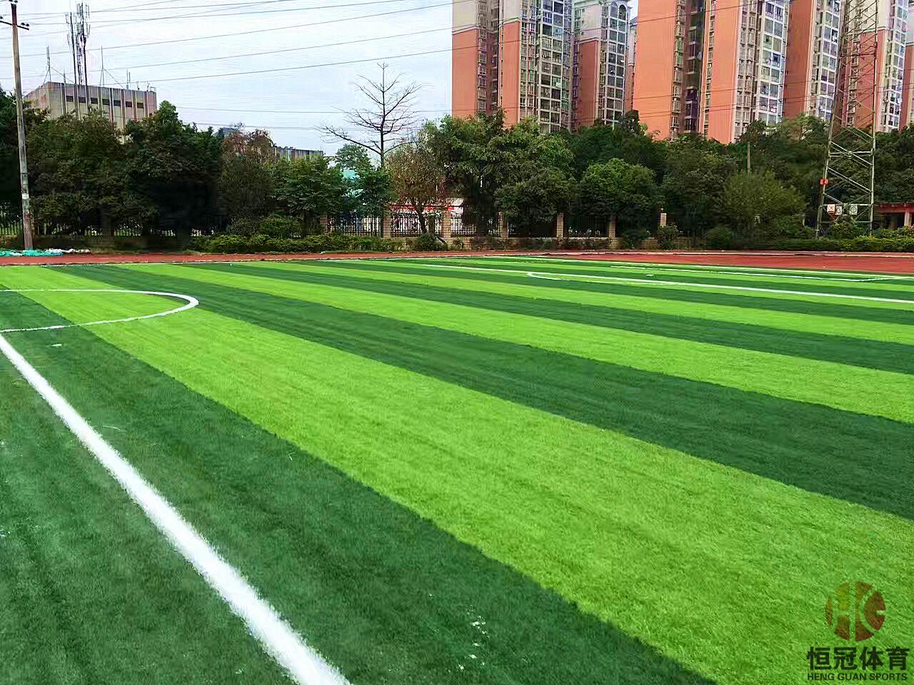 柳州人造草坪足球场建设